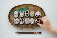 SUIMIN刺繍展『酢飯と猫』