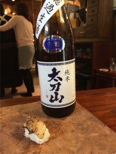 マンチョウ味噌漬け × 太刀山 純米生 48℃