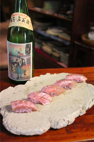 金目鯛の生粕漬け × 男山 45℃